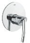 Tenso : Single-lever shower mixer trim - Click for more details