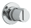 Grohtherm 2000 : Concealed stop-valve exposed part - Click for more details