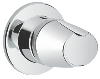Grohtherm 3000 : Concealed stop-valve exposed part - Click for more details