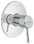 Concetto : Single-lever shower mixer trim - Click for more details