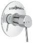 Concetto : Single-lever bath/shower mixer trim - Click for more details