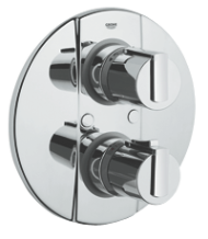 Grohtherm 2000 : Thermostatic bath/shower mixer trim