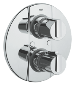 Grohtherm 2000 : Thermostatic bath/shower mixer trim - Click for more details
