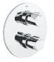 Tenso : Thermostatic bath/shower mixer trim - Click for more details