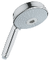 Rainshower : handshower 130 mm Rustic - Click for more details