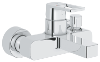 "Quadra : Single-lever bath/shower mixer 1/2"" - Click for more details"