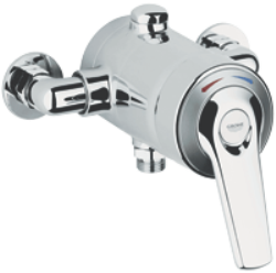 Avensys Shower : Manual shower mixer exposed 1/2""