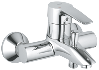 Eurostyle : Single-lever bath/shower mixer 1/2""