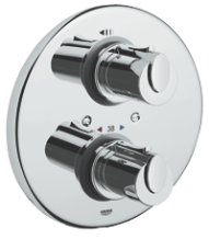 Grohtherm 1000 : Thermostatic shower mixer 1/2""