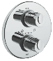 "Grohtherm 1000 : Thermostatic shower mixer 1/2"" - Click for more details"