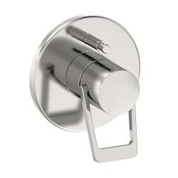 MODERNA PLUS : Set for concealed bath mixer with diverter